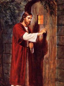 JESUS KNOCING ON DOOR