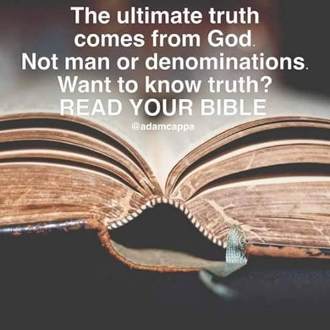 A READ YOUR BIBLE POSTER