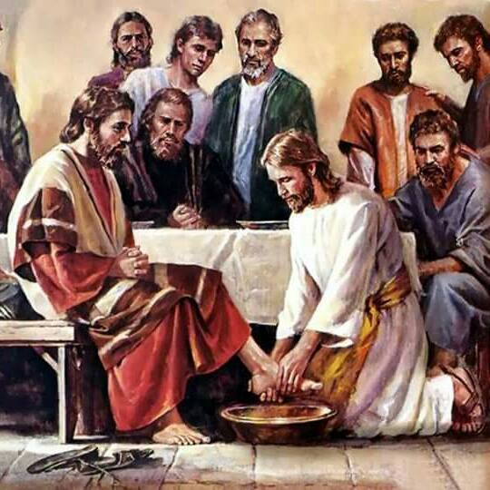 JESUS FEET WASHING