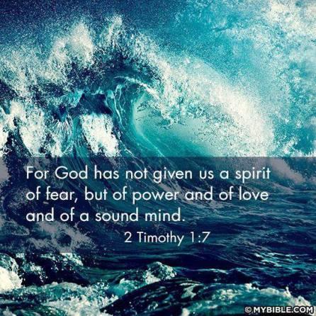 NO SPIRIT OF FEAR