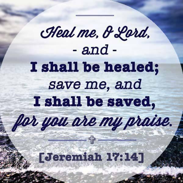 a HEALING scripture