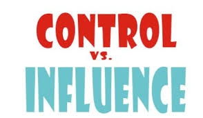 Control vs influence